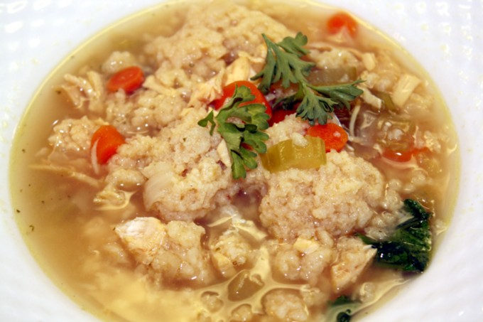 Nana's Chicken Matzo Ball Soup Recipe