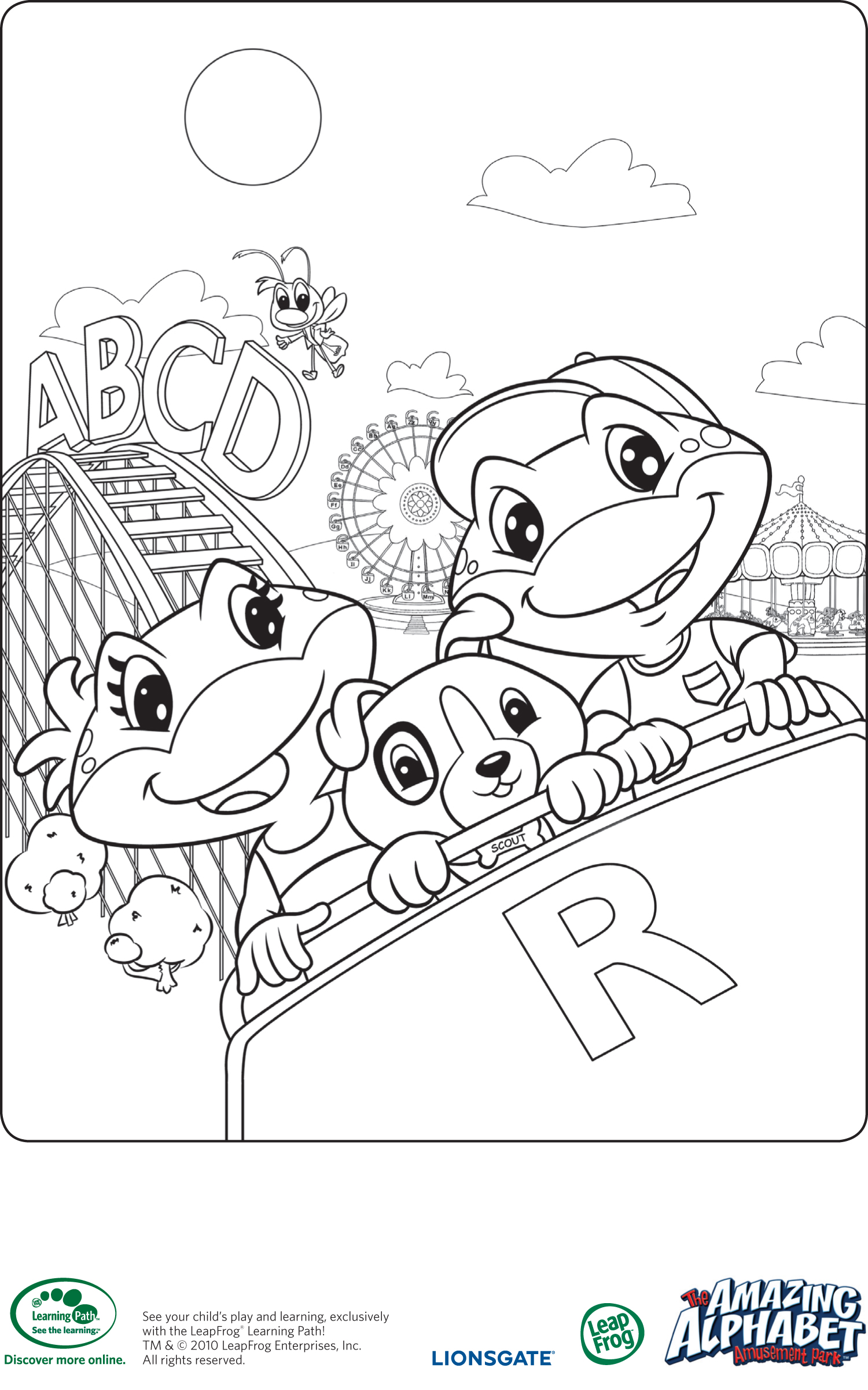 Alphabet Review Coloring Pages : Free coloring pages of alphabet review