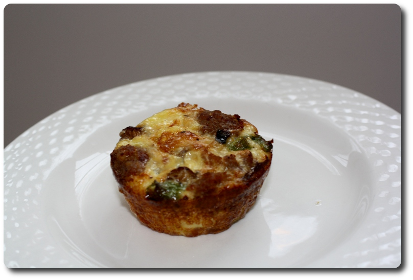 Mini Mushroom and Sausage Quiches- The Simple Art of Eating Well