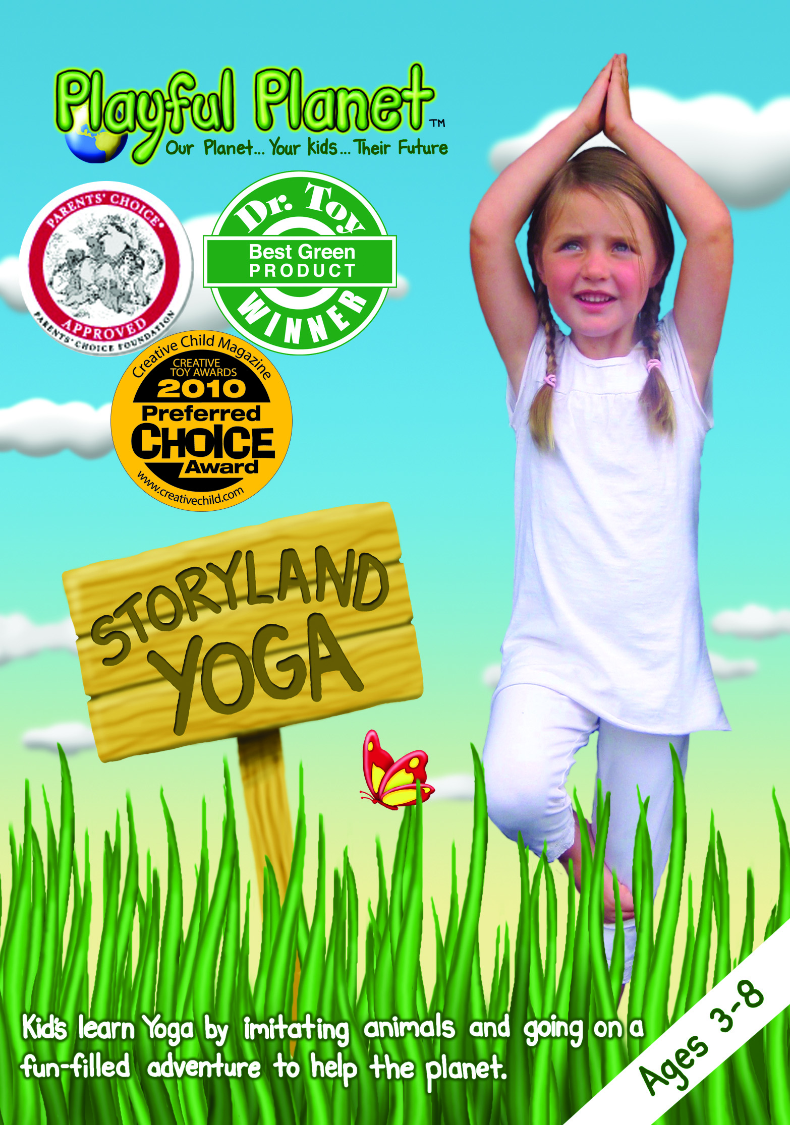 Storyland Yoga DVD Review