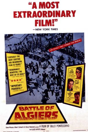 Turner Classic Movies- 31 Days of Oscar-Battle of Algiers- DVD Giveaway CLOSED