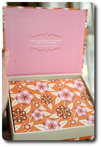Mother s day gift idea live inspired compendium inc for Design home gift paper inc