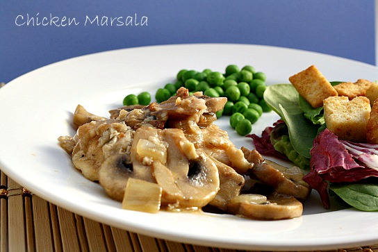 Chicken Marsala With New Knorr 174 Homestyle Stock The Mama