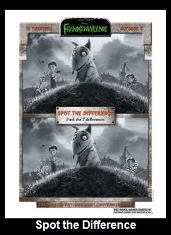 Frankenweenie Nightmare Before Christmas