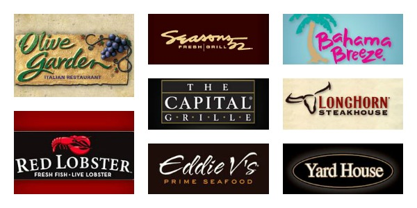 A Gift Card to Suit All Tastes with Darden Restaurants & a $20 ...