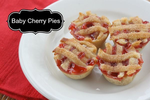 #luckyleafluckyme mini cherry pies