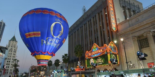 Oz The Great and Powerful World Premiere- Red Carpet Experience at the El Capitan Theatre #DisneyOzEvent