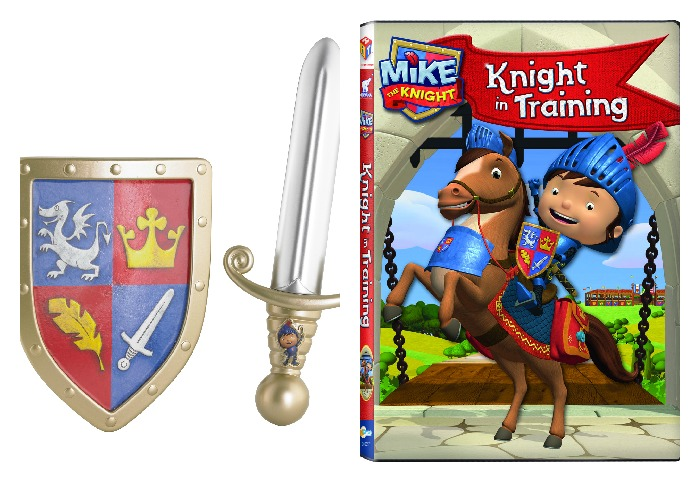 mike the knight in training