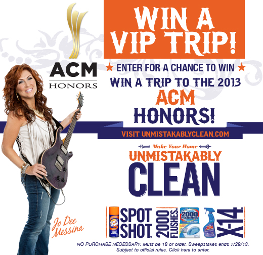 Enter to win a trip to the ACM Honors!