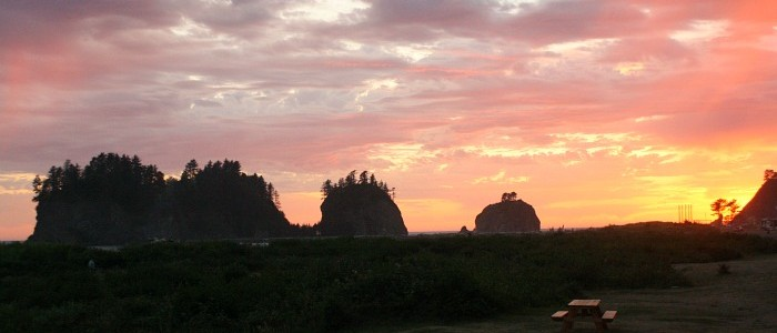 La Push Beach, Washington- Quileute Oceanside Resort