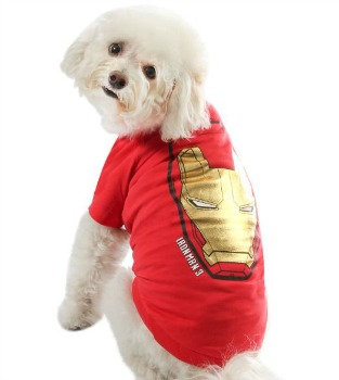 PetSmart Iron Man costume