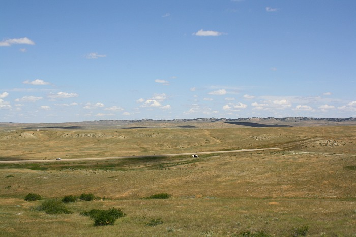 battle of the little bighorn praire view