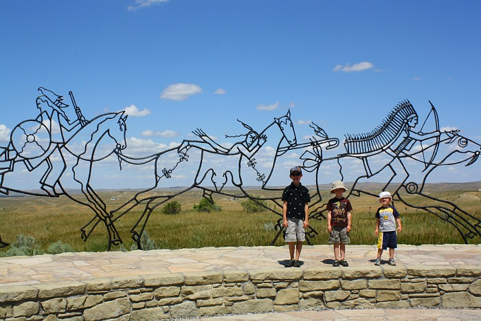 battle of the little bighorn sculpture