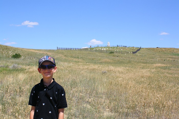 battle of the little bighorn view