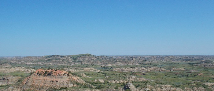 Theodore Roosevelt National Park, North Dakota- Painted Canyon