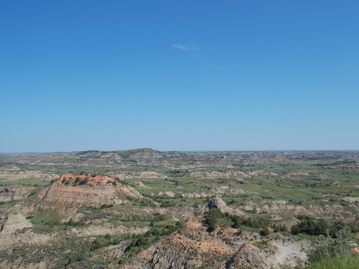 theodore roosevelt national park badlands of north dakota