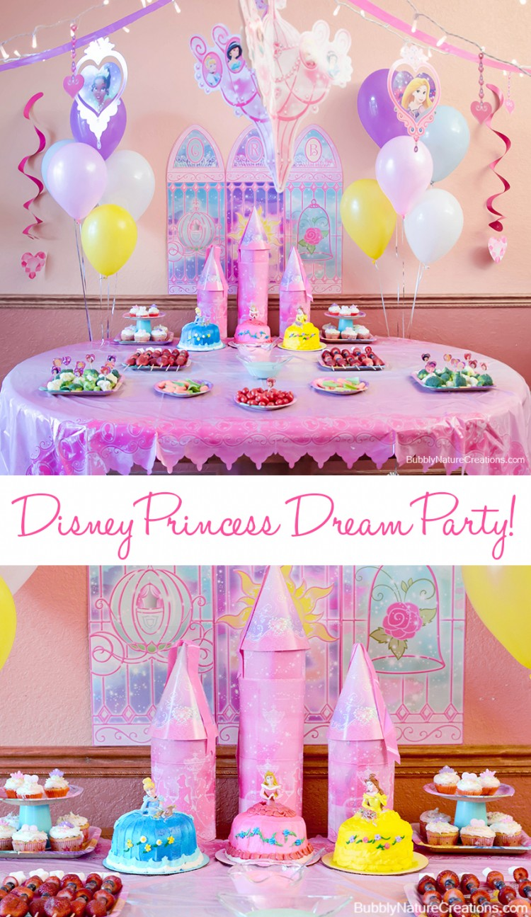 Kids Party Disney Princesses The Mama Report