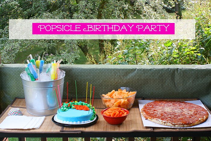 popsicle party buffet