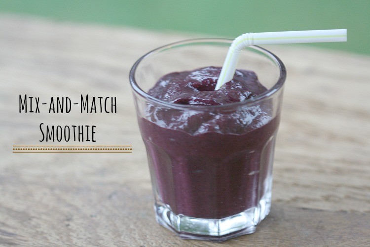 chop chop mix and match smoothies