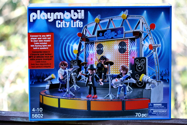 playmobil city life rock stag