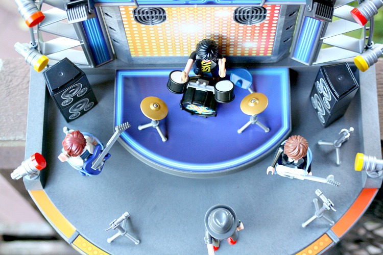 playmobil music stage