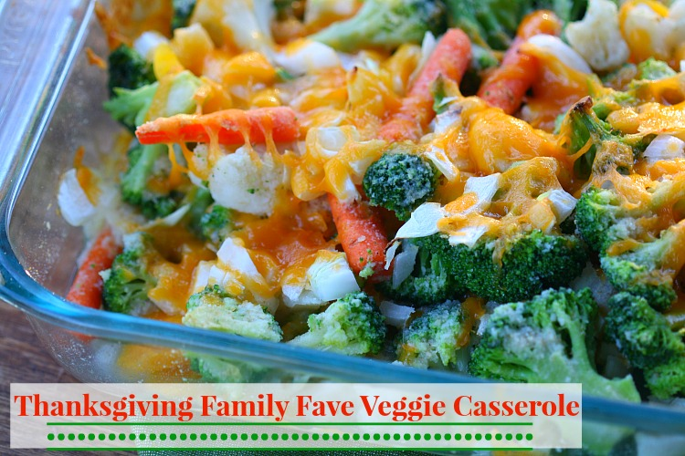 family fave thanksgiving casserole