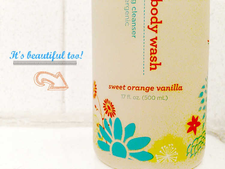 sweet organge vanilla the honest company