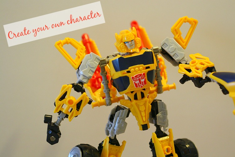 Creativity Toys For Boys : Construct convert customize with transformers