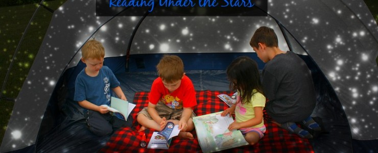 Reading Under the Stars with the Scholastic Summer Reading Challenge