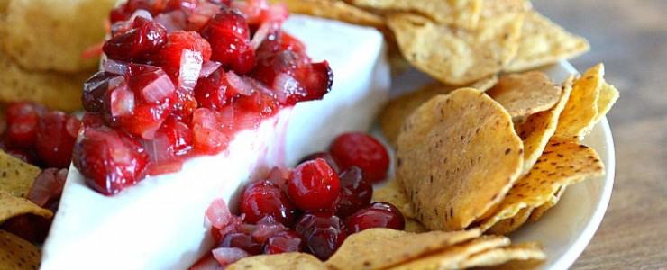Christmas Appetizer Idea- Cranberry Compote