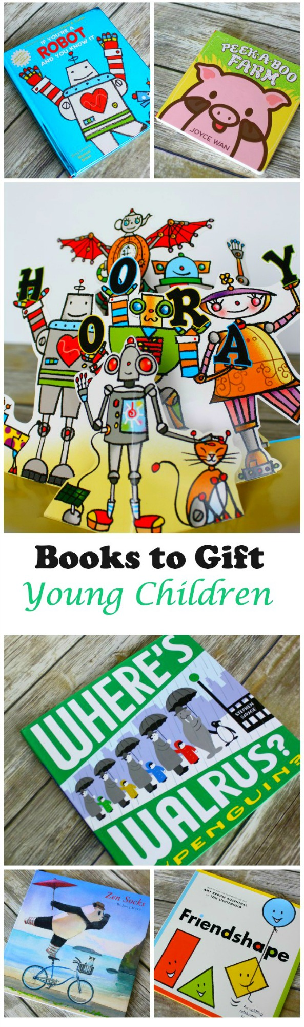 Books to Gift Young Children for the Holidays