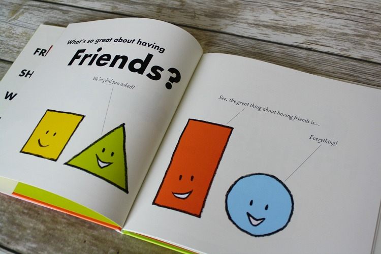FriendShape Inside of Book
