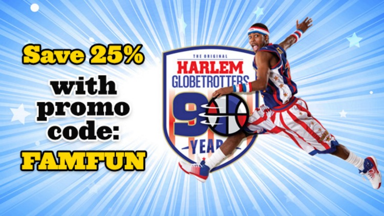 Save on tickets to Harlem Globetrotters