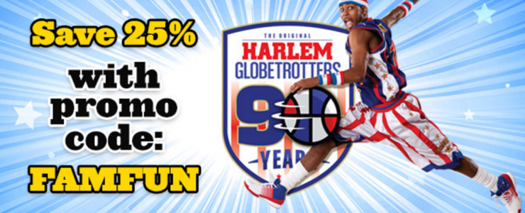 Harlem Globetrotters 90th Anniversary Tour in Minneapolis!