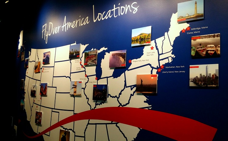 FlyOver America Locations in the US