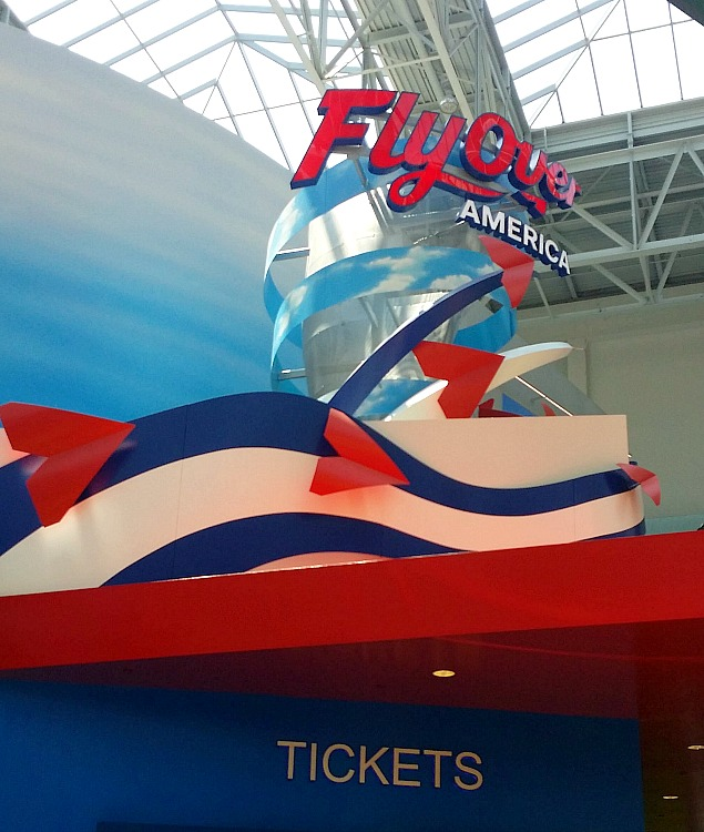 Flyover America at the Mall of America