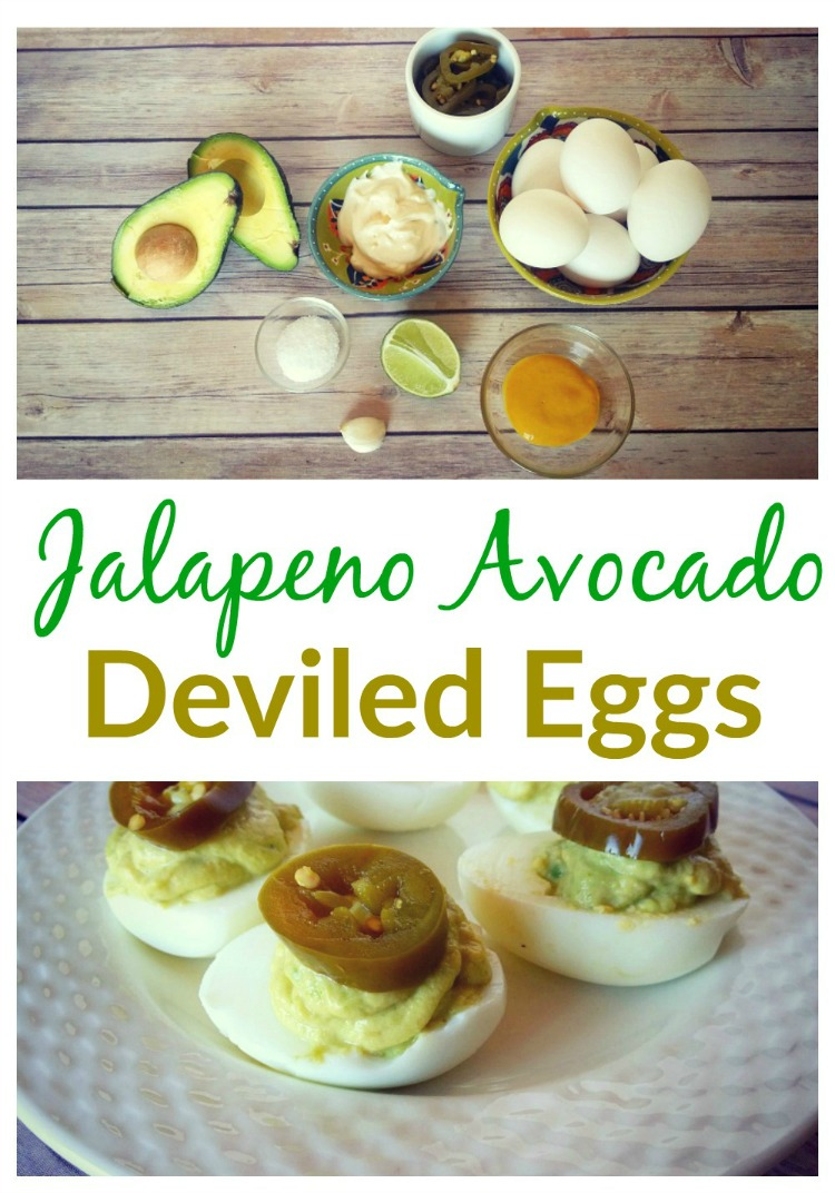 Jalapeno Avocado Deviled Eggs Easy Recipe