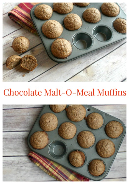 Chocolate Malt-O-Meal Magic Muffins