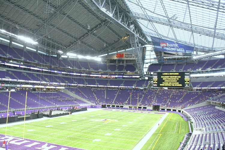 USBank Stadium for the Vikings