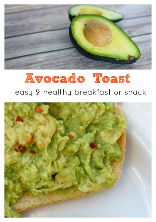 Avocado Toast snack
