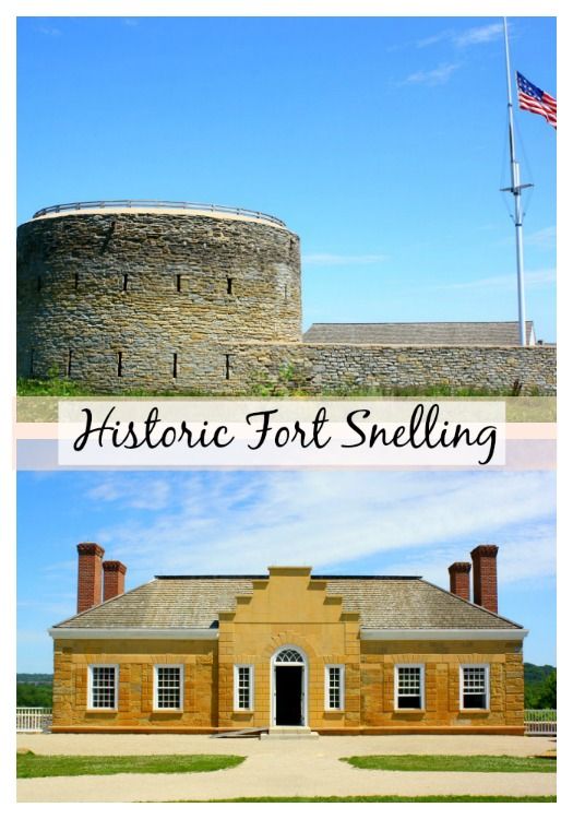 Historic Fort Snelling in Minnesota