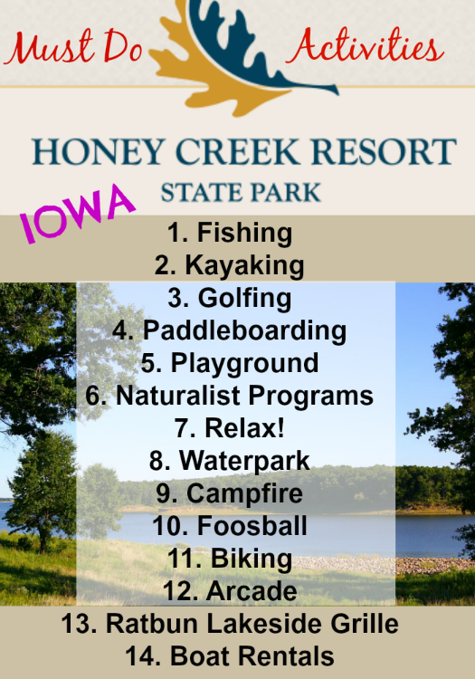 Must Do Activities at Honey Creek Resort State Park