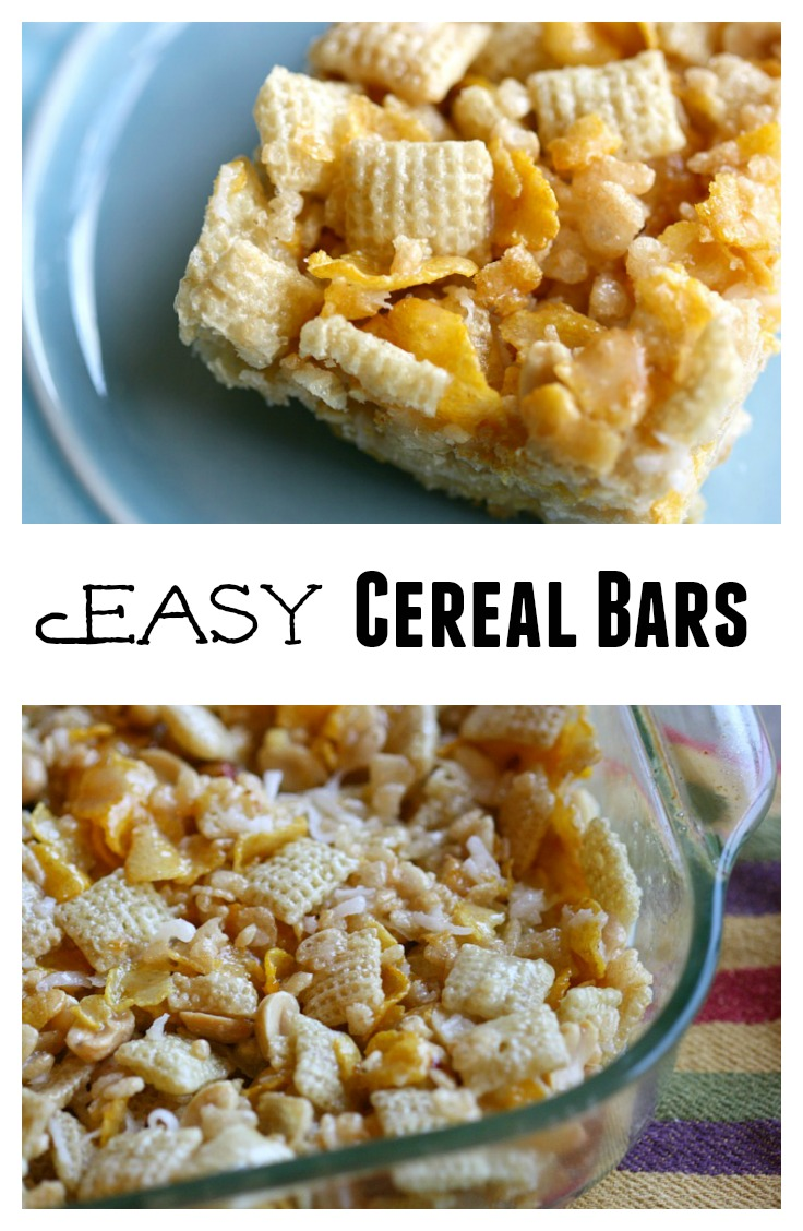 Easy cereal bars the mama report share the goodness add easy cereal ccuart Choice Image