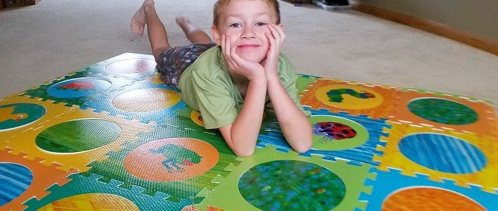 Eric Carle Hungry Caterpillar Foam Play Mat & a Giveaway