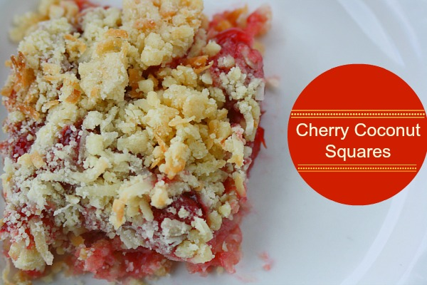 lucky leaf cherry squares