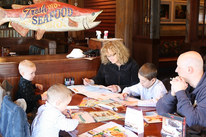red lobster family dining
