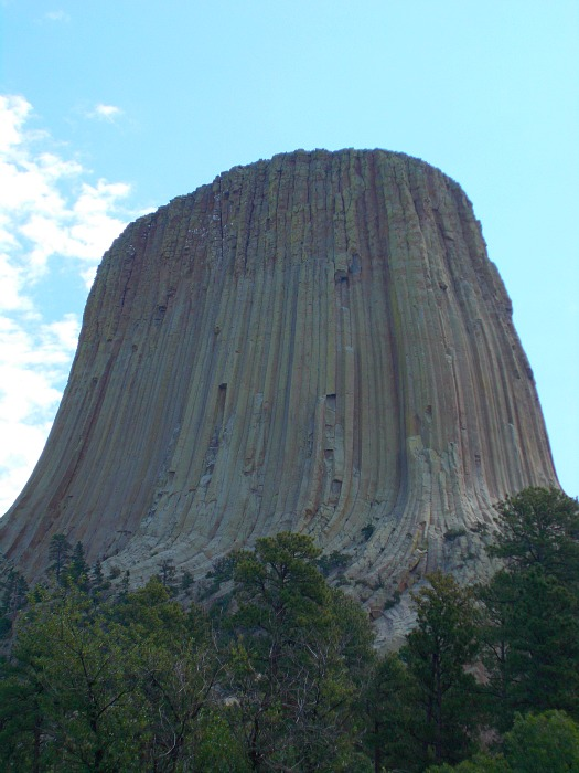 devils tower view
