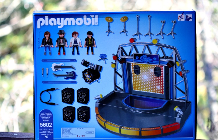 playmobil rock stage pieces