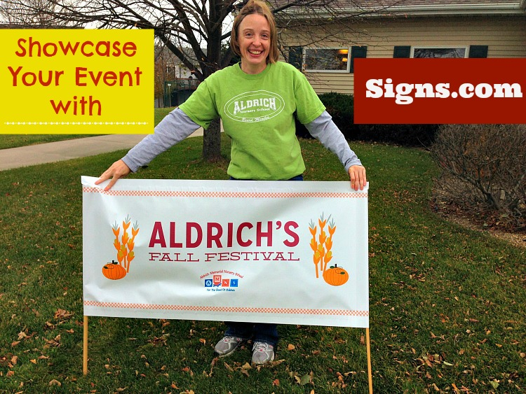 showcase your event with signs.com