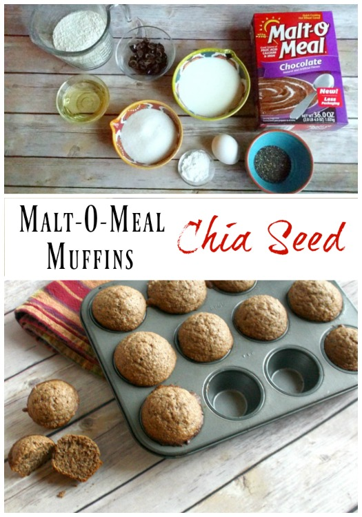 Malt-O-Meal Muffins with Chia Seed